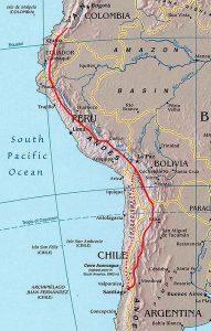 Qhapaq Ñan: Mapa del Camino Inca
