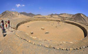 Templo del anfiteatro de Caral