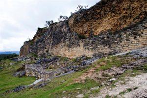Kuélap: vista de la muralla