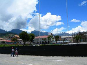 Huaraz: Plaza de Armas de la Ciudad
