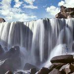 Catarata de Pillones: Vista Frontal