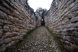 Kuélap: Pasadizos de la fortaleza