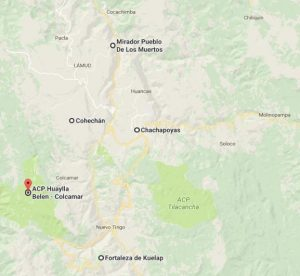mapa Gran Vilaya