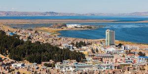 Vista de la ciudad de Puno
