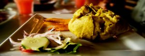 Avispa juane de rioja, platos típicos de la selva