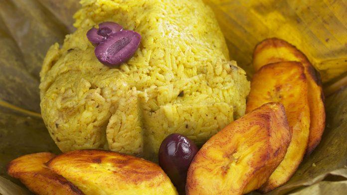 Juane de arroz, platos típicos de la selva
