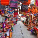 Mercado artesanal Pisac, Cusco