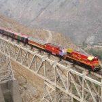 Tren Lima- Huancayo. Tren en Perú