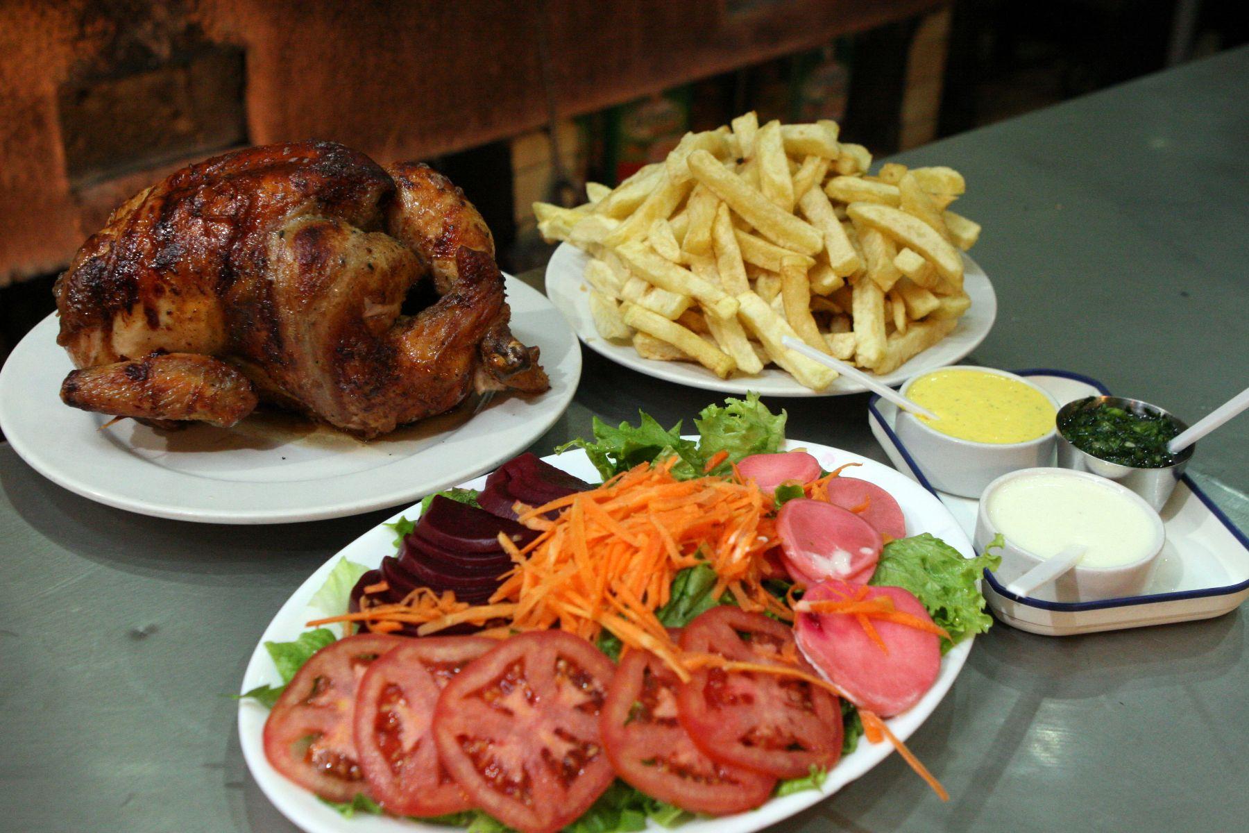 pollo a la brasa, Perú