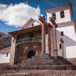 Mochilearn en Perú: Templo en Andahuaylillas