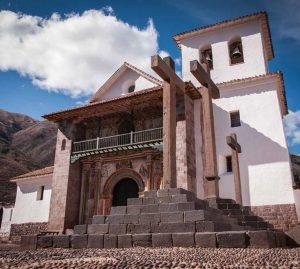 Mochilearn por Perú: Templo en Andahuaylillas