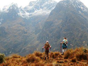 Mochilear en Perú