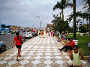 Plaza de Armas en Chincha Alta