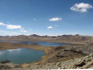 Laguna Orcococha cerca a Laguna Pultocc