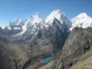 Cordillera Huayhuash Siulá Grande