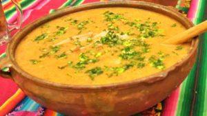 Semana Santa Sopa de Choclo Peru