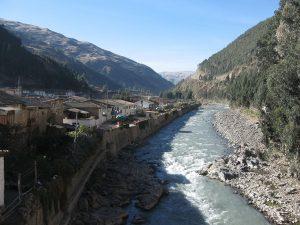 Tres Cruces rio paucartambo