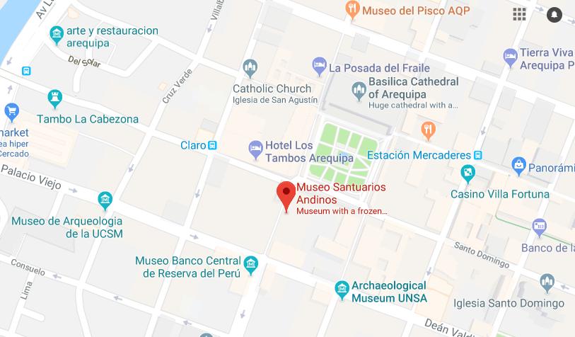 Momia Juanita Museo