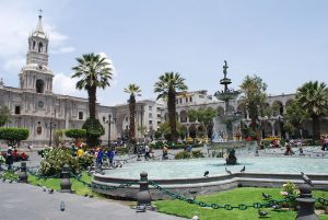 <Plaza de Armas de Arequipa Momia Juanita