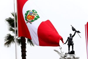 Dia de la Bandera del Peru