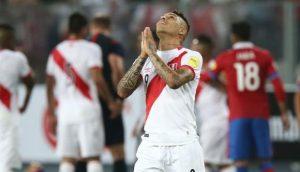 Peru vs Suecia Paolo Guerrero