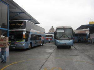 Terminales de buses Flores Hermanos