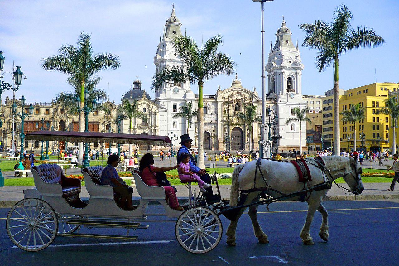 Lima Calle Capón Planes por Fiestas Patrias
