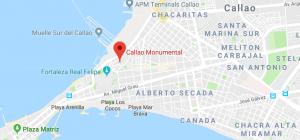Monumental Callao Mapa