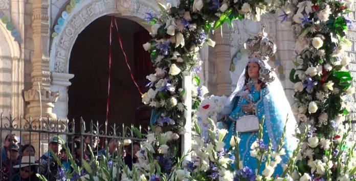 Vírgen de las Nieves Coracora Ayacucho