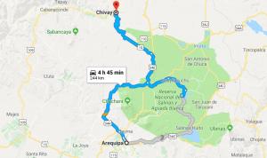 Valle del Colca Chivay