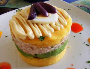 Gastronomía Peruana Causa Rellena