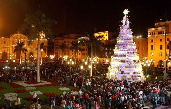 costumbres peruanas en navidad