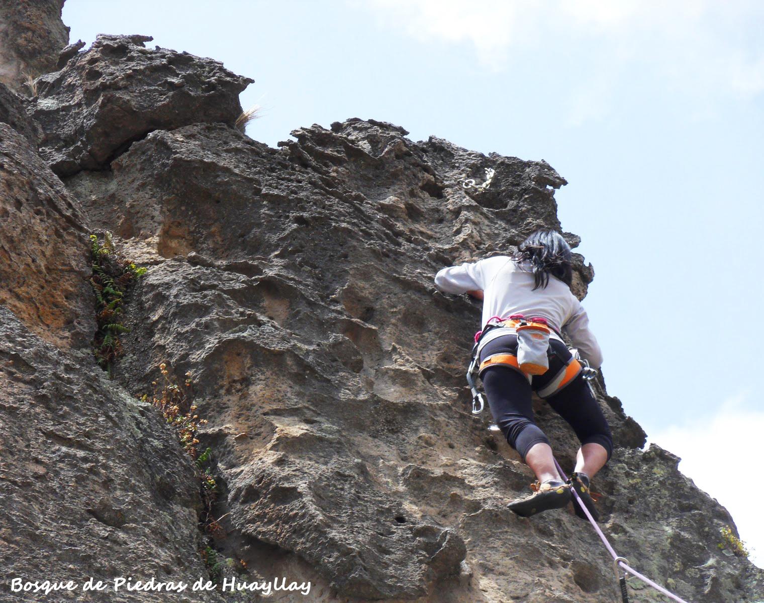 Actividades extremas en Huayllay. Foto: deaventura.pe