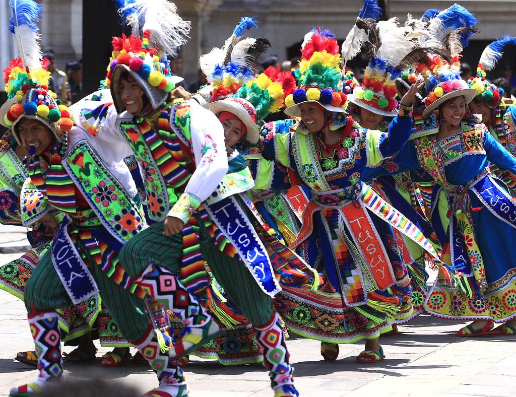 Carnaval de Juliaca 2020.