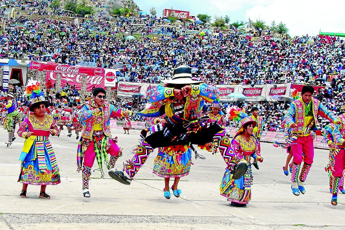 Carnaval de Juliaca 2020. Foto: https://diariocorreo.pe