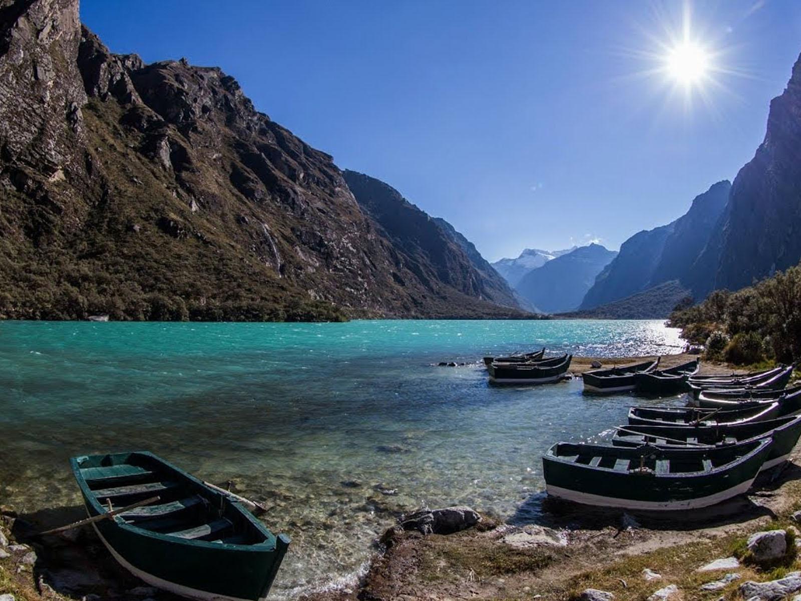 Laguna de Llanganuco. Foto: bigtravel.live