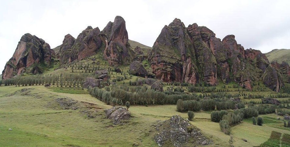 bosque de piedras de laupay