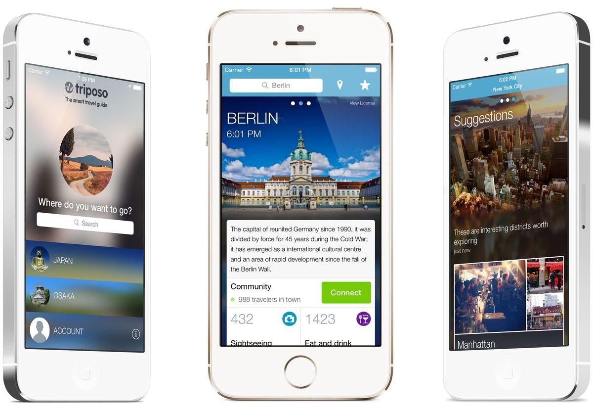 Apps para planear viajes. Foto: huffingtonpost.com, www.pinterest.es