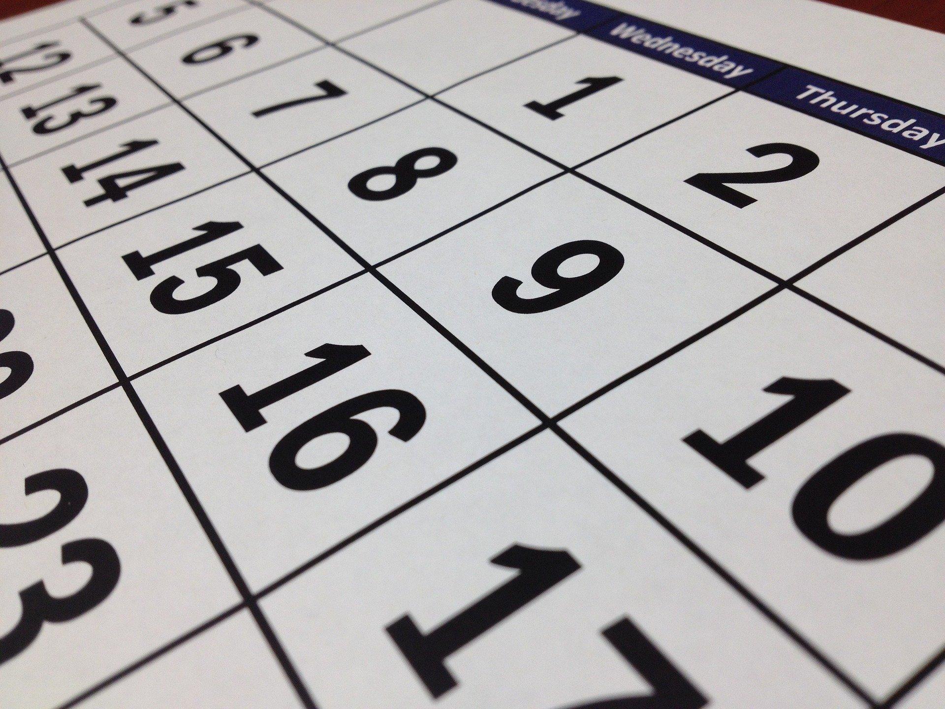 calendario black friday