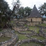 Kuelap: Imagen del patio central