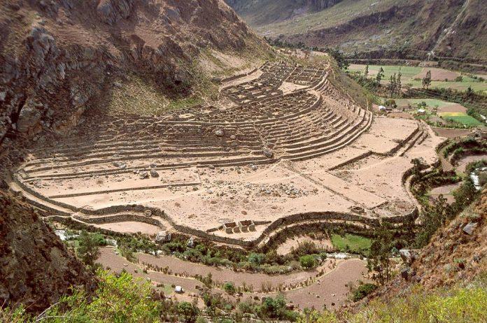 Vista de Patallacta