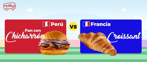 Perú vs Francia redBus
