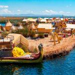 Isla Flotante de los Uros, Puno