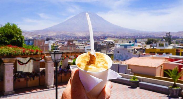 Queso helado arequipeño